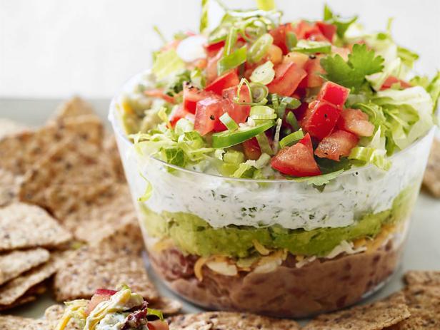 Keto 6 Layer Taco Salad