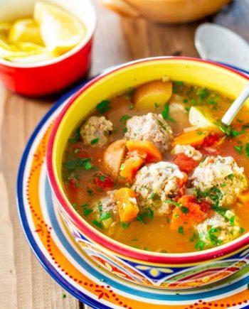 Keto Albondigas Soup