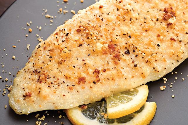 Keto Baked Parmesan Haddock