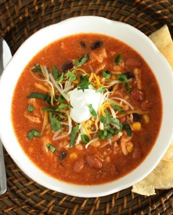 Keto Chicken Enchilada Soup