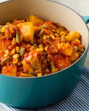 Keto Chicken Veggie Stew