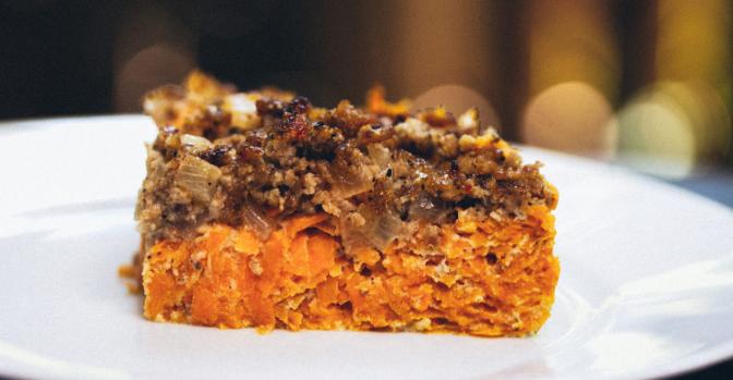 Low Carb Sweet Potato Breakfast Casserole