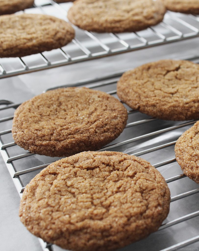 Low Carb Lemon Gingersnaps
