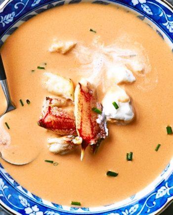 Low Carb Crab Bisque