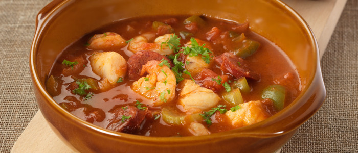 Low Carb Down Home Seafood Gumbo