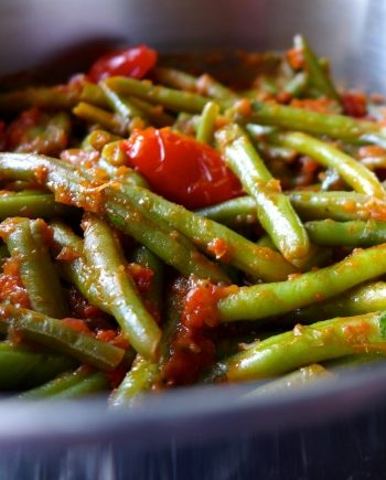 Low Carb Greek Green Beans