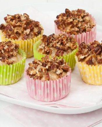 Low Carb Maple Pecan Muffins