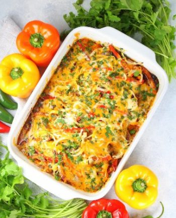 Low Carb Nacho Chicken Casserole
