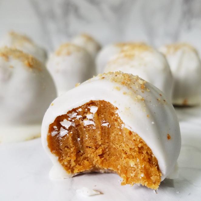Low Carb Pumpkin Truffle