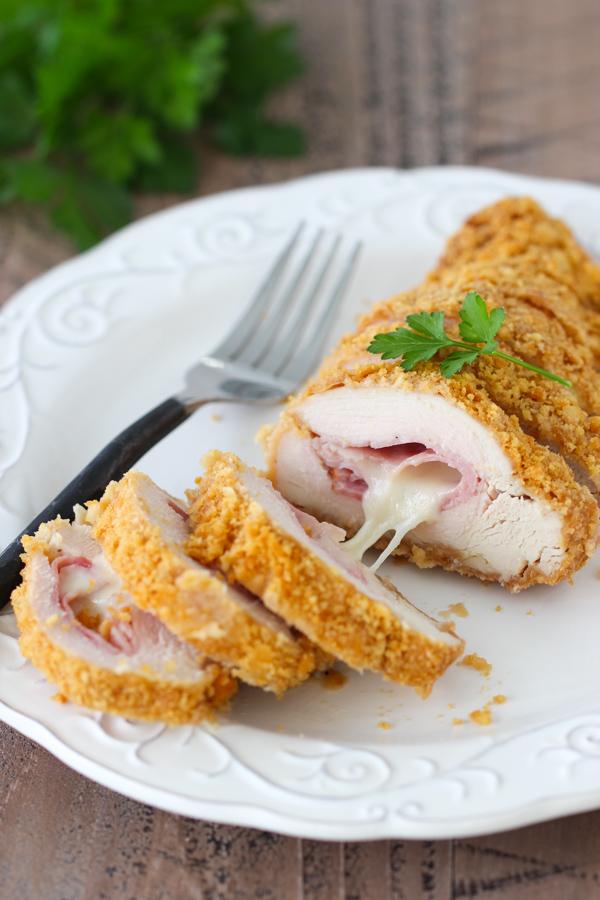 Keto Chicken Cordon Bleu