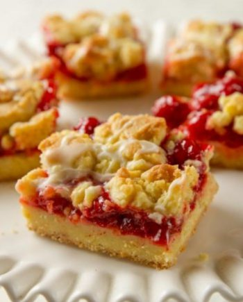 Keto Cherry Pie Bars